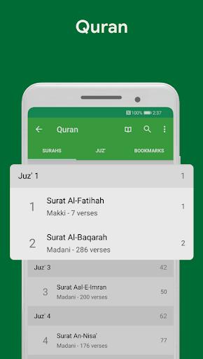 Muslim Assistant - Prayer Times, Azan, Qibla 4.2.06 Screenshots 3