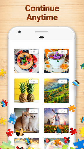 Jigsaw Puzzles - Puzzle Game modavailable screenshots 5