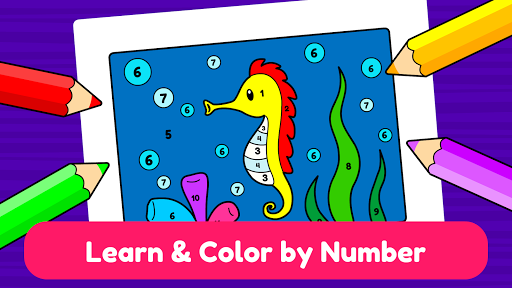 Learning & Coloring Game for Kids & Preschoolers  screenshots 4