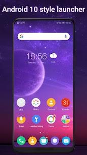 Cool Q Launcher Mod Apk  for Android 10 launcher (Premium Unlocked) 1