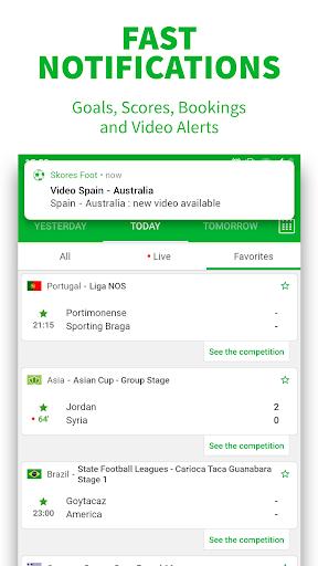 SKORES - Live Football Scores 3.7.6 Screenshots 3