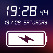 Digital Clock & Battery Charge