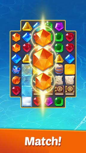 Gems Voyage - Match 3 & Jewel Blast 1.0.12 screenshots 2
