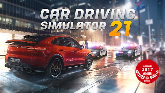 Extreme Car Driving Simulator 2021: The cars game  screenshots 1