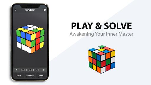 Rubik's Cube : Simulator, Cube Solver and Timer 1.0.4 screenshots 2