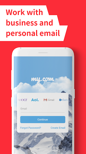 myMail: Email App for Gmail, Hotmail & AOL E-Mails screenshots 2