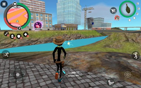 Stickman Rope Hero 2 Mod Apk (Add Exp/Unlimited Coin) 2