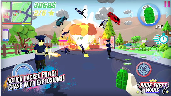 Dude Theft Wars Mod Apk Download (Unlimited Money/Free Shopping) 9