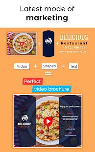 Brochure Maker, Advertisement Maker With Video