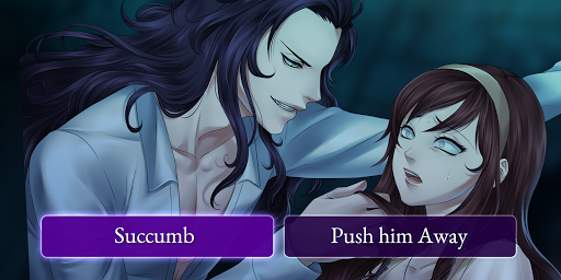 Moonlight Lovers : Beliath - dating sim / Vampire apkmartins screenshots 1