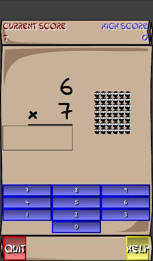 Multiplication Ninja 31 screenshots 21