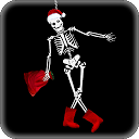 Cheerful Skeleton Live Wallpaper