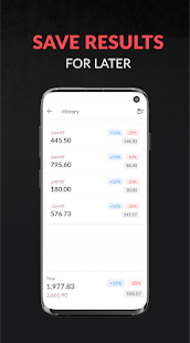 Discount and tax percentage calculator