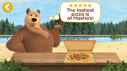 Masha and the Bear Pizzeria Game! Pizza Maker Game  screenshots 8