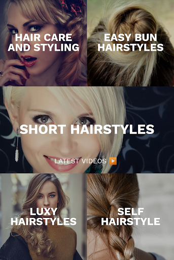 Hairstyles for your face : Free Hair salon 3.0.153 Screenshots 5
