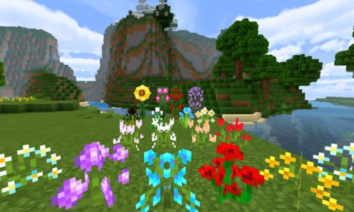Télécharger Better Foliage V2! Bedrock Edition Mod MC PE APK MOD (Astuce) screenshots 1