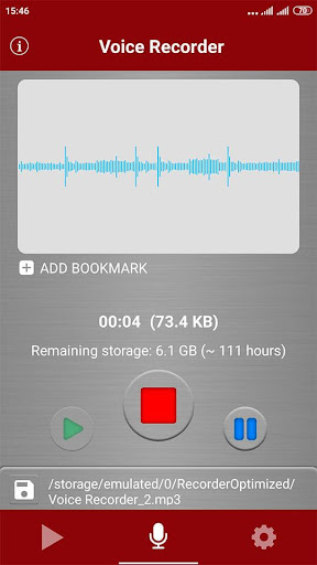 voice recorder screenshot 9