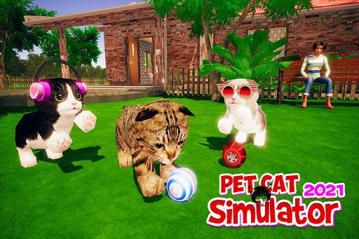 Virtual Cat Simulator - Open World Kitten Games  screenshots 3