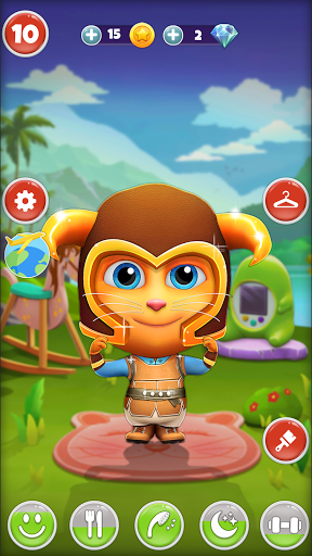 My Talking Cat Tommy - Virtual Pet apktram screenshots 2