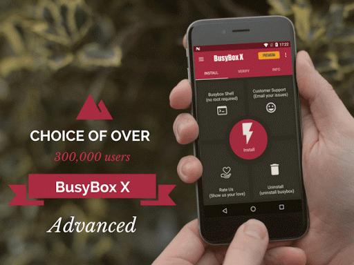 BusyBox X [Root] X 106 Screenshots 1