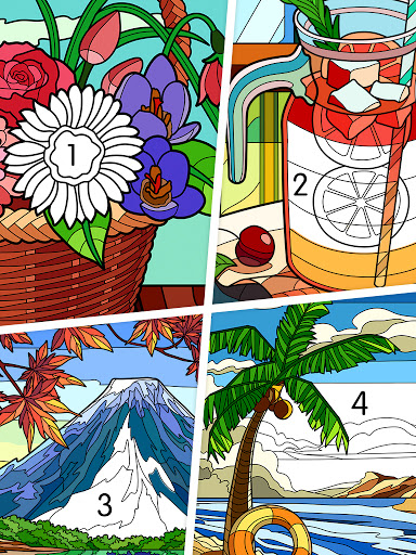 Coloring - color by number 1.1.7 screenshots 17