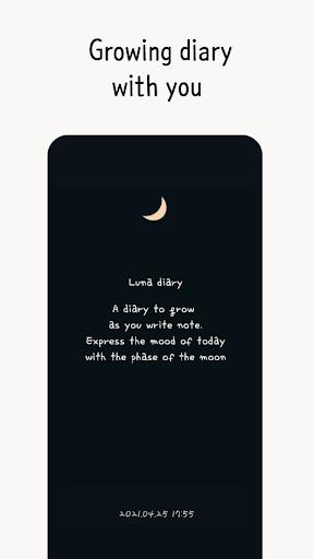 Luna diary - journal on the moon screenshots 2