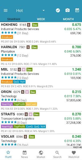 StockHunter - KLSE ( Bursa ) apktram screenshots 1