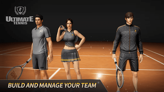 Free Ultimate Tennis  3D online sports game 2