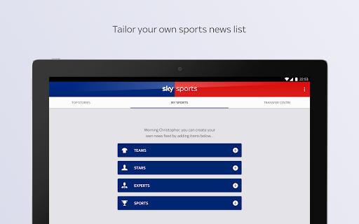 Sky Sports apktram screenshots 14