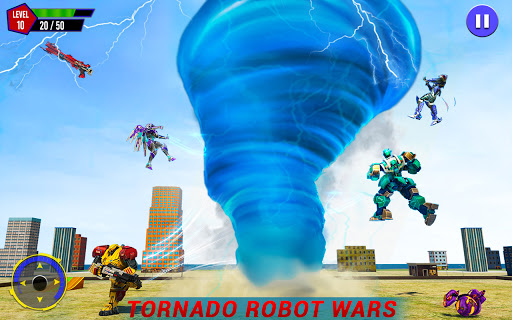 Shark Robot Car Game - Tornado Robot Bike Games 3d 1.1.1 screenshots 14