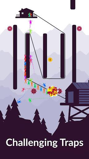 Zipline Valley - Physics Puzzle Game 1.9.4 Screenshots 10