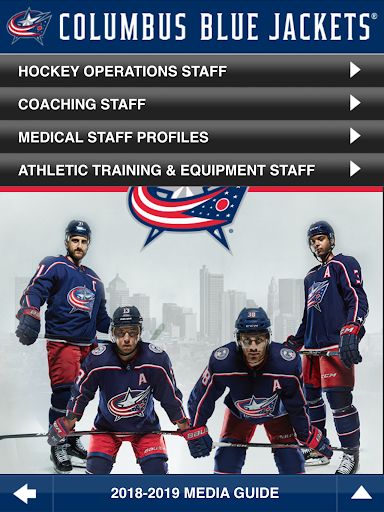 Columbus Blue Jackets Interactive Media Guide For PC Windows (7, 8, 10, 10X) & Mac Computer Image Number- 11