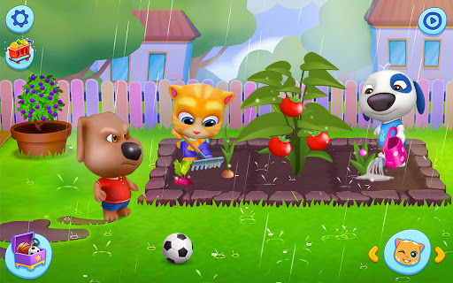 Mon Talking Tom – Amis screenshots apk mod 3