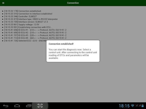 MotorData OBD Car Diagnostics. ELM OBD2 scanner 1.20.12.781 Screenshots 22