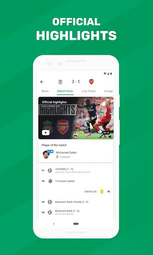 FotMob - Soccer Live Scores screen 1