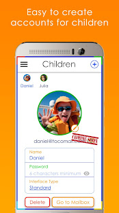 Tocomail - Email for Kids