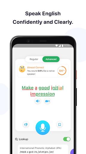 ELSA Speak: Online English Learning & Practice App screen 0