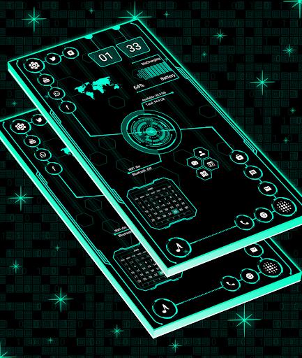 Visionary Launcher 2021 App lock, Hitech Wallpaper 27.0 Screenshots 10