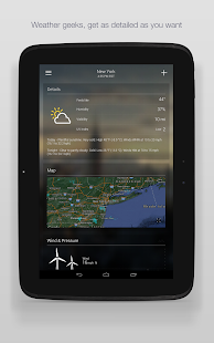 Yahoo Weather Screenshot