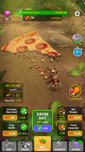 Little Ant Colony - Idle Game 2.2 screenshots 2