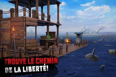 Raft Survival: Survie sur un radeau - Nomad screenshots apk mod 3