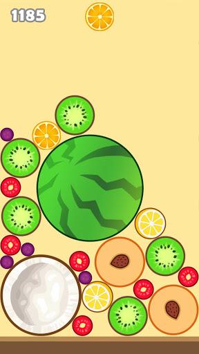 Fruit Merge Mania - Watermelon Merging Game 2021 apkdebit screenshots 3