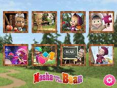 Masha and the Bearの知育ゲームのおすすめ画像1