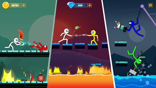 Supreme Stickman Battle: Stick War Fighting Games  screenshots 2