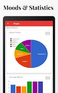 Diaro - Diary, Journal, Mood Tracker with Lock 3.91.0 Screenshots 18