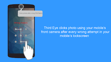 Third Eye - Find Who Tries to access your mobile