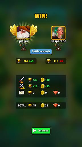 Random Clash - Epic fantasy strategy mobile games apkslow screenshots 5