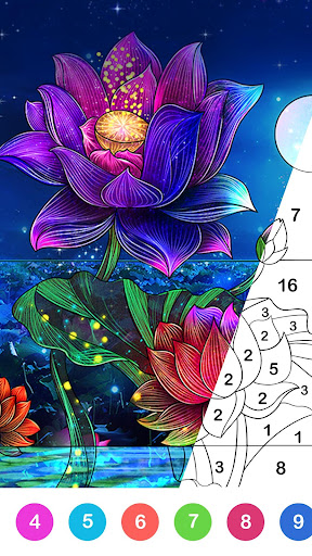 Paint.ly Color by Number - Fun Coloring Art Book  screenshots 1