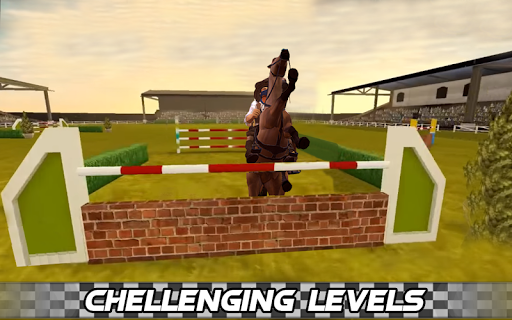 Derby horse Riding Finish Quest Race Jump 1.0 screenshots 3
