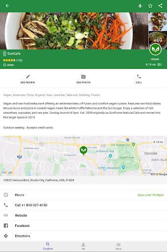 Find Vegan Restaurants & Vegetarian Food- HappyCow 62.0.56-free-v2 Screenshots 22